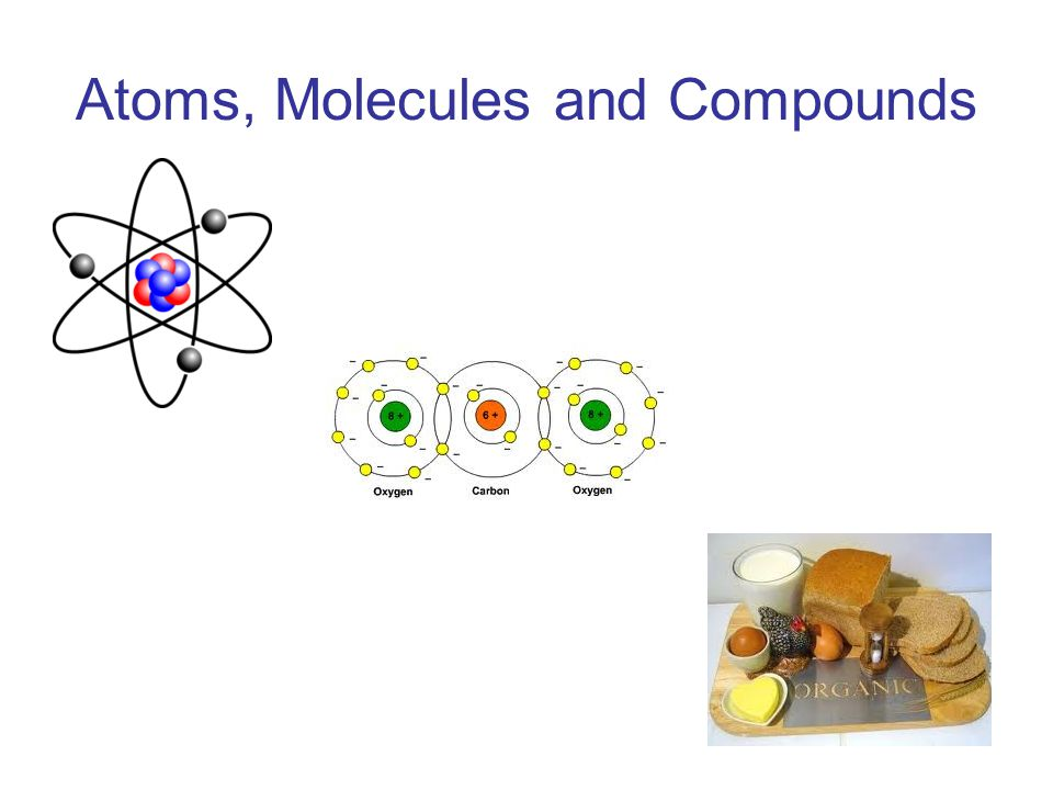 Atoms, Molecules and Compounds