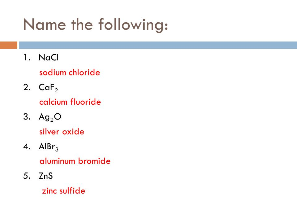 formula for silver oxide