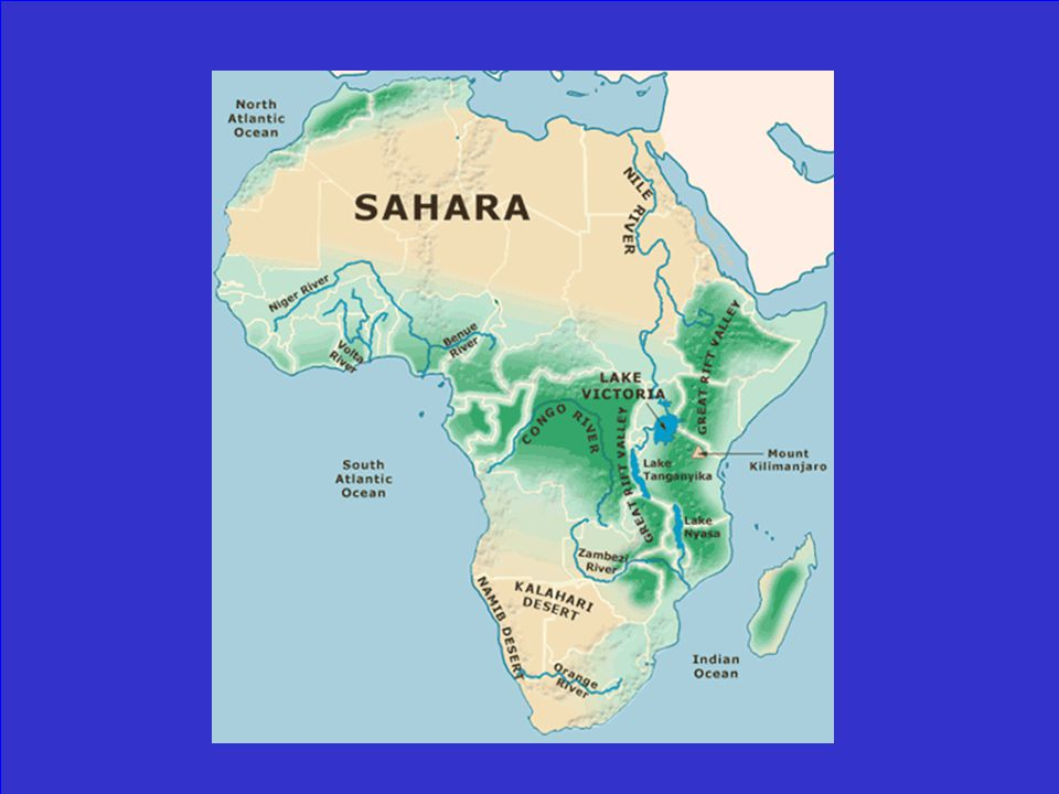 Map Of Africa Congo River.Jeopardy Africa Test Review Click To Begin Ppt Video Online Download