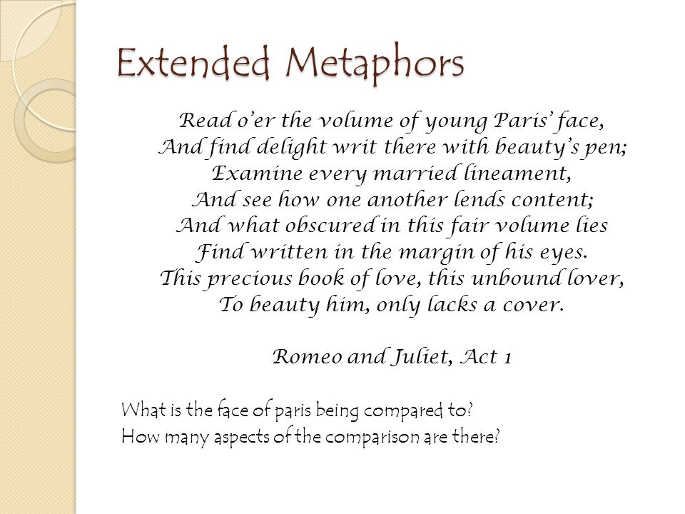 Similes and Metaphors Can you find the simile in this poem? What