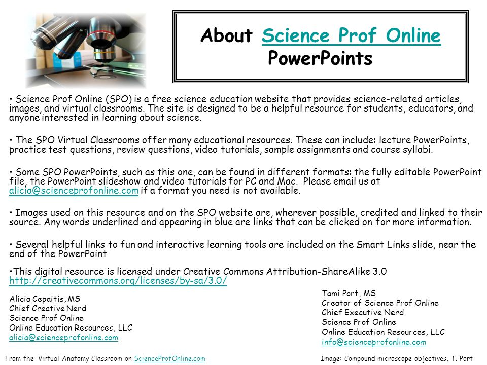 About Science Prof Online PowerPointsScience Prof Online Science ...