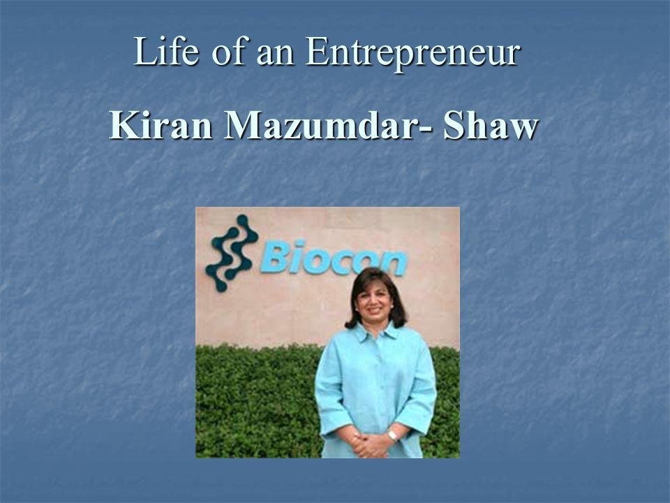 kiran mazumdar shaw success story