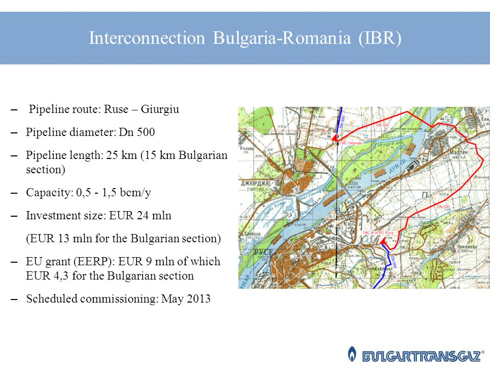 Bulgartransgaz EAD: Perspectives for Investments and Developing of