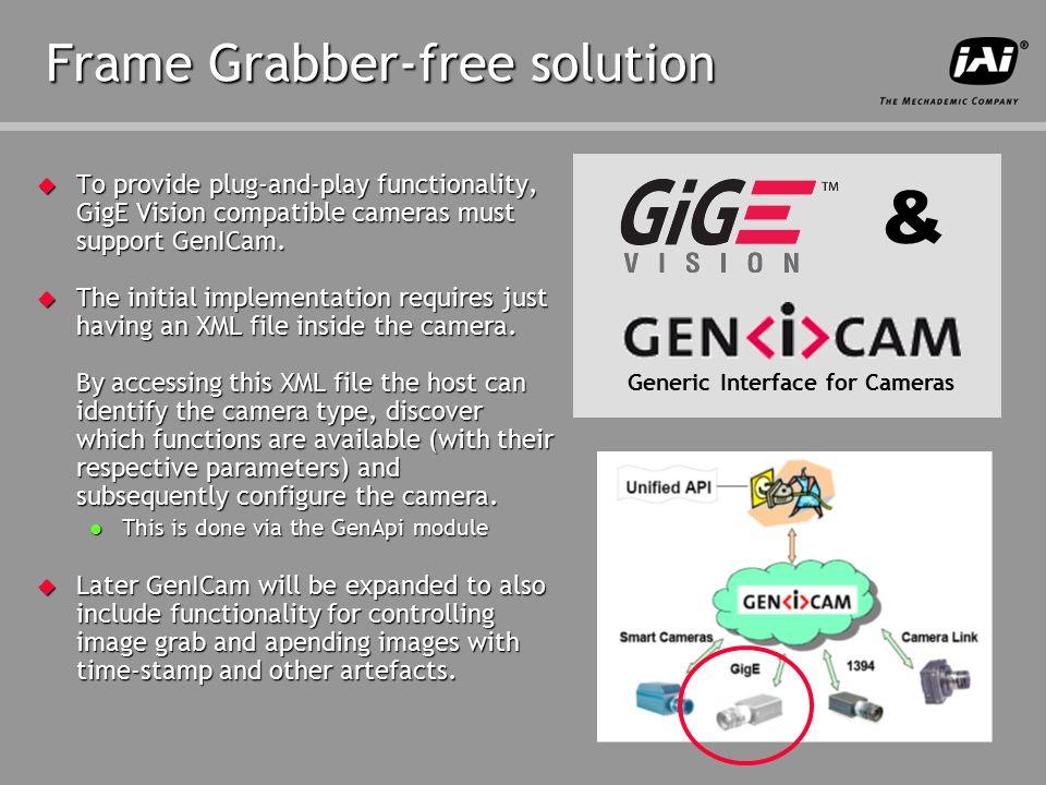 JAI_ppt_temp_RevA  GigE camera interface opens up new