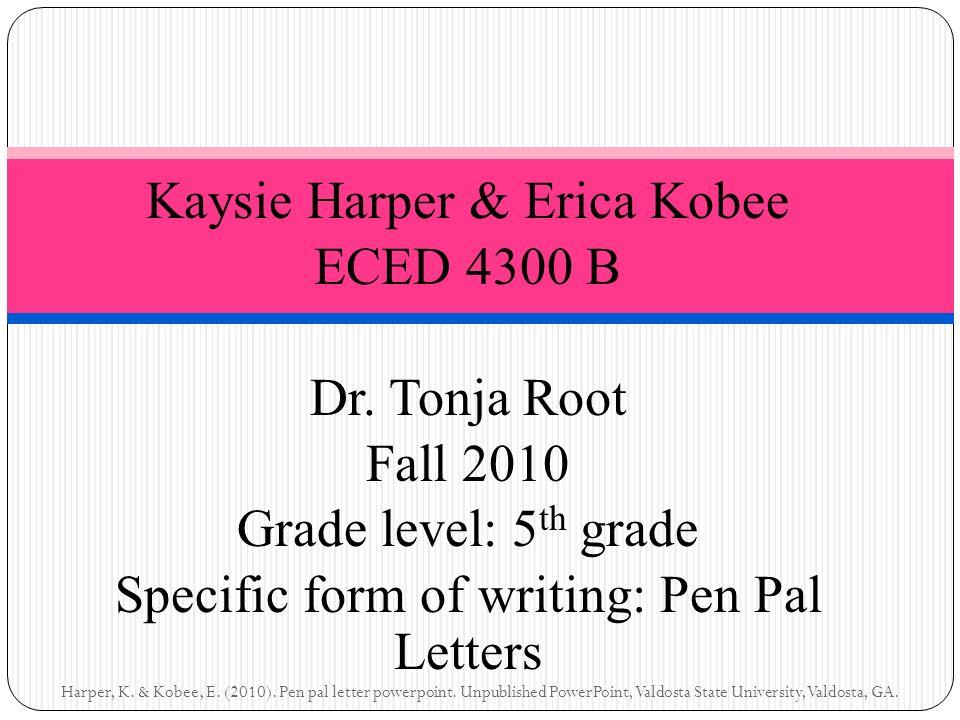 Kaysie harper erica kobee eced 4300 b dr tonja root fall 2010 1 kaysie spiritdancerdesigns Choice Image