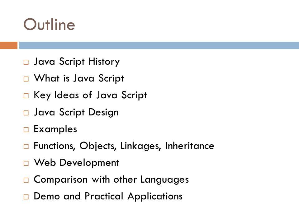 Inf 212 analysis of prog langs javascript instructors crista lopes 2 outline java urtaz Gallery