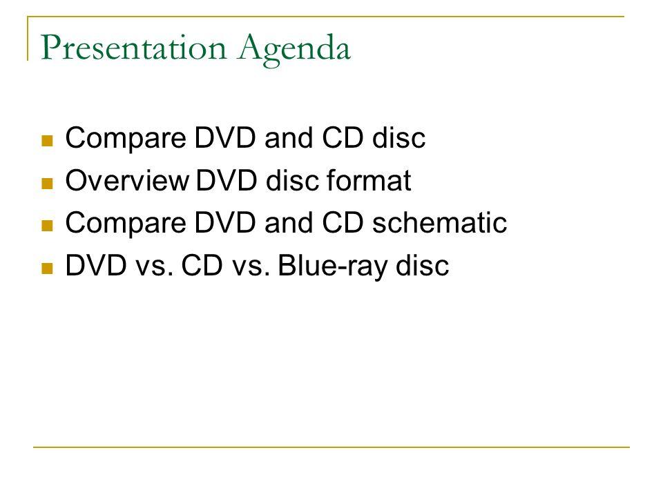 dvd vs cd ece e443 joshua nguyen presentation agenda compare dvd