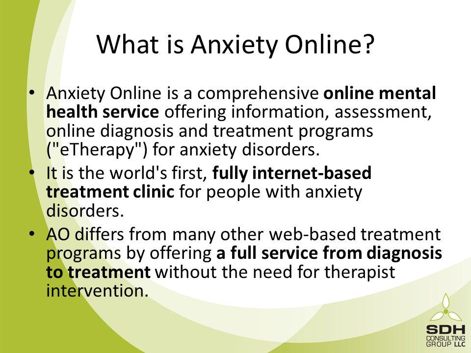 A Case Study Of A Webgui Powered Online Treatment Program For