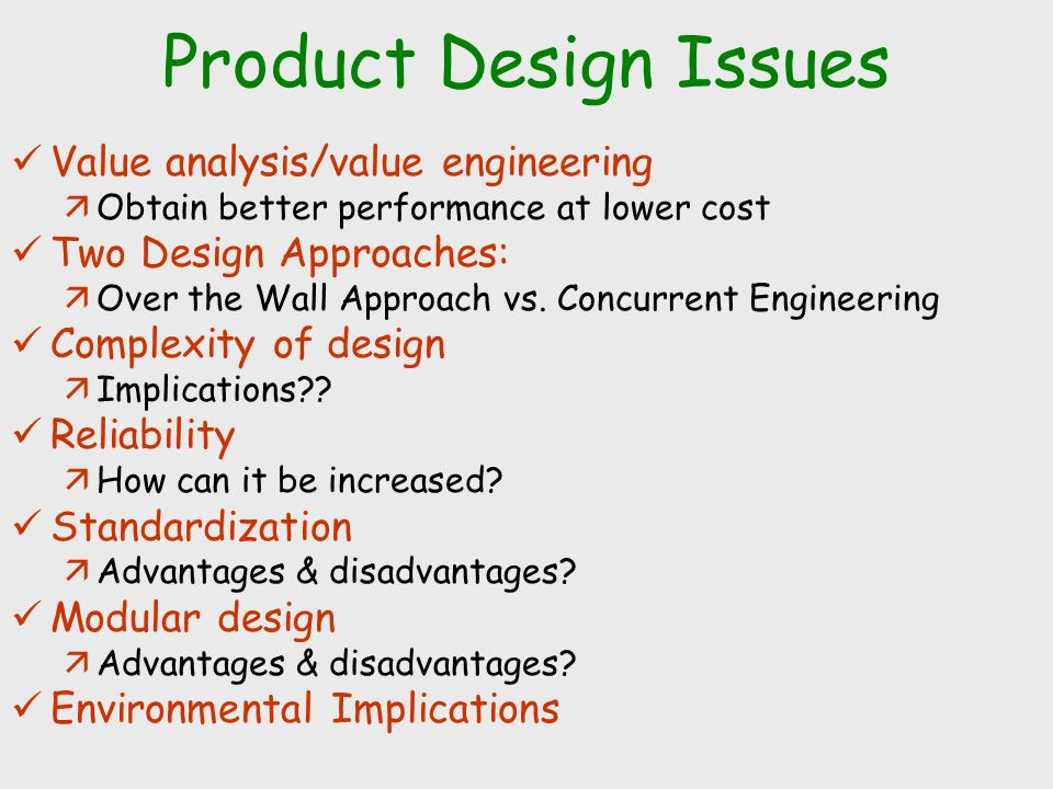 Product Design And Process Selection Based On Slides For Chase Acquilano And Jacobs Operations Management Mcgraw Hill Ppt Download