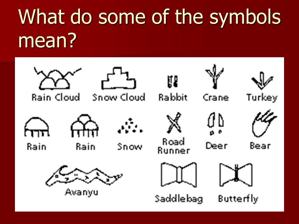 American Indians Symbols Ms Amaya 3 Rd Grade American Indian