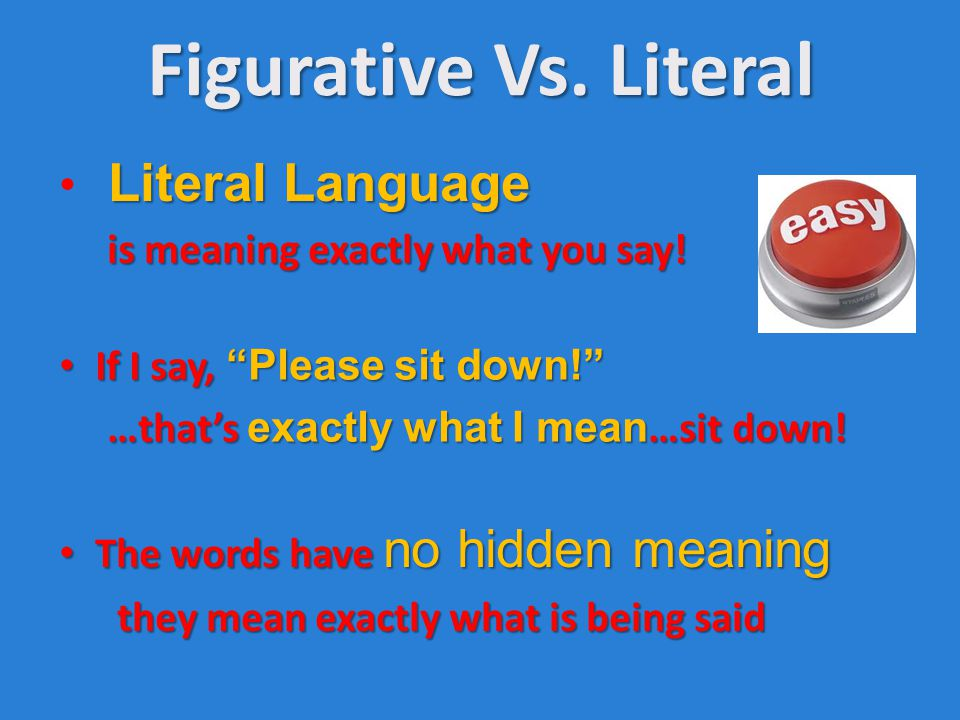 Two Styles Of Language What Are The 2 Styles Of Language Literal