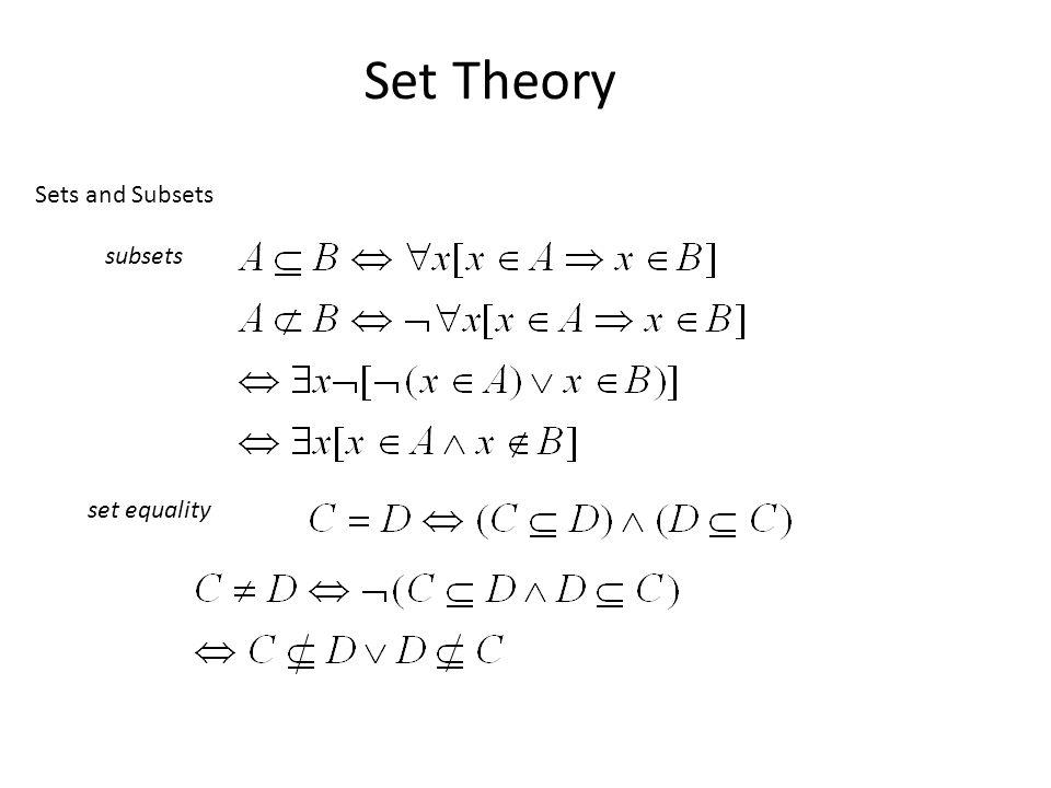 Discrete mathematics sets online presentation.