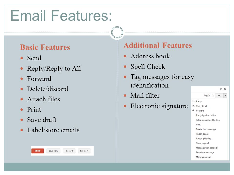 Webpage Design Electronic Mail Anatomy Of An Message Messages
