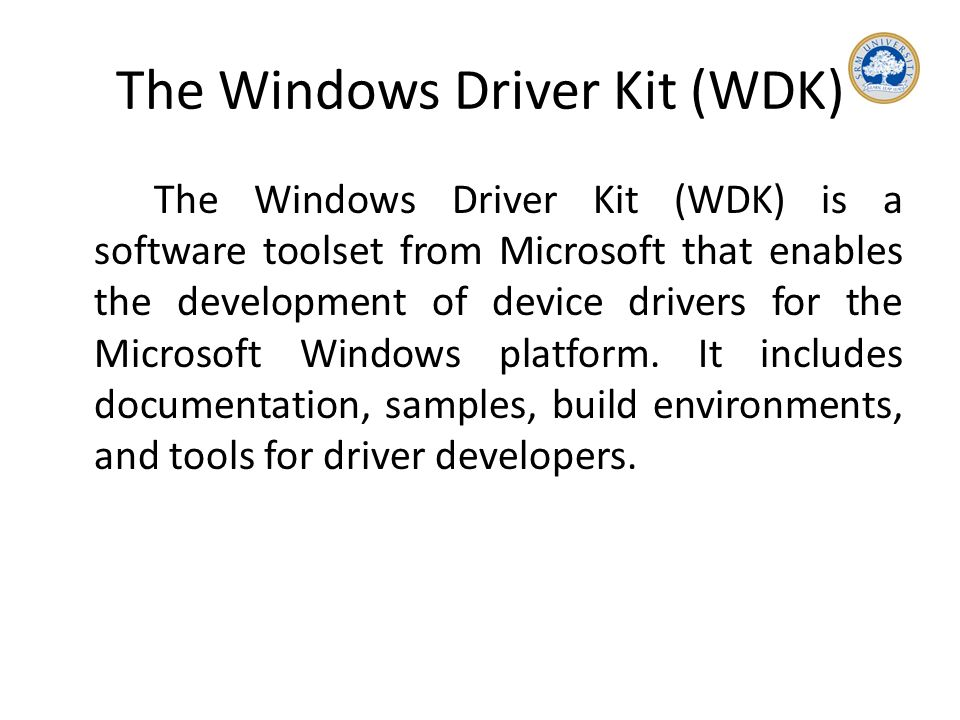 Drivers & Installation  In computing, a device driver is a