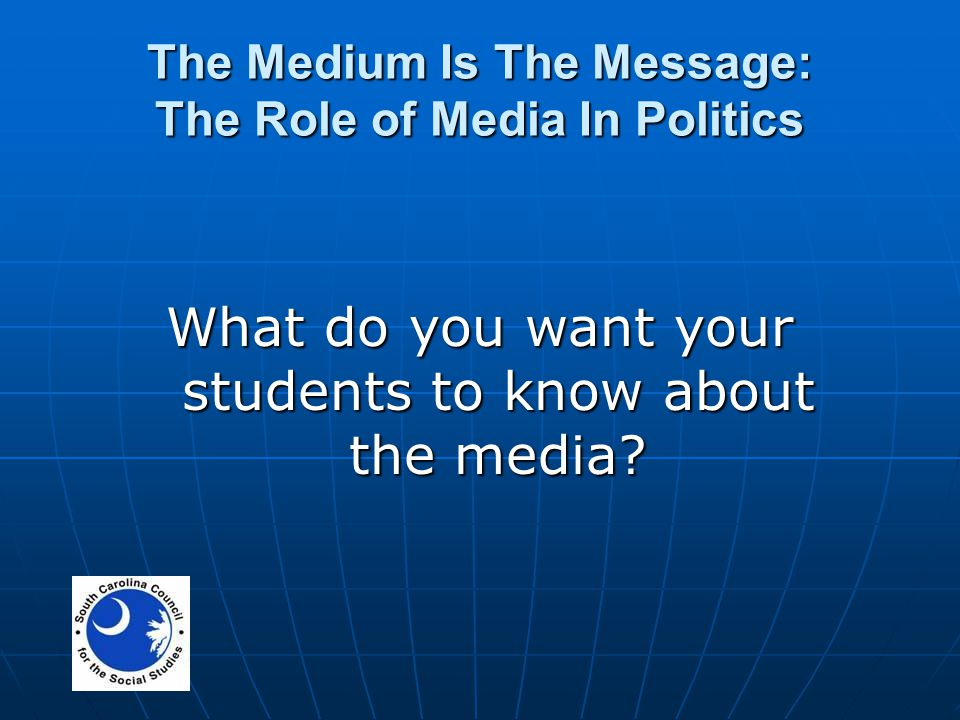 role of media in politics