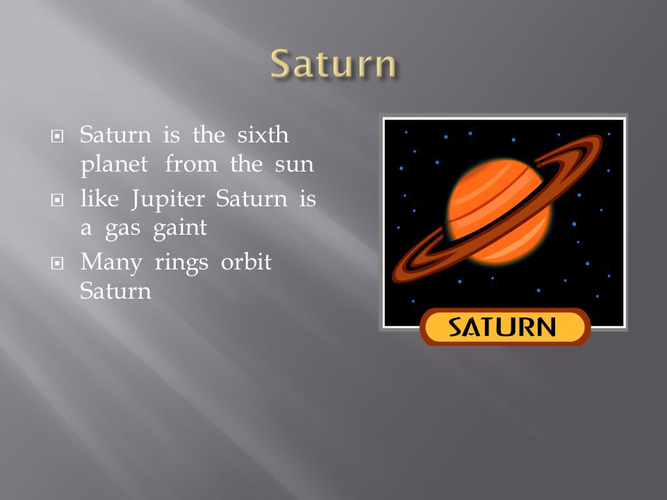  Jupiter is the fifth planet from the sun.  It is the biggest planet in the solar system.