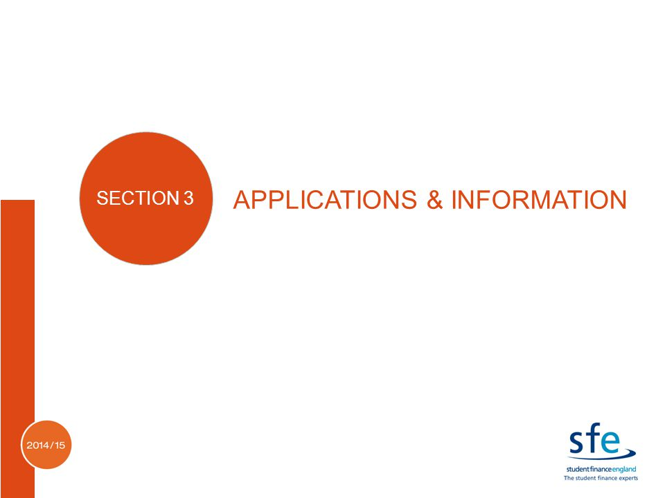 APPLICATIONS & INFORMATION SECTION 3