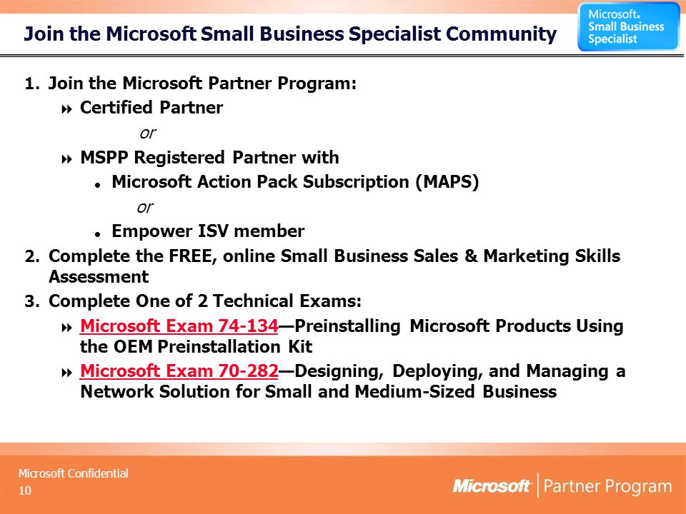 Microsoft Small Business Specialist Community Mira Perry Partner