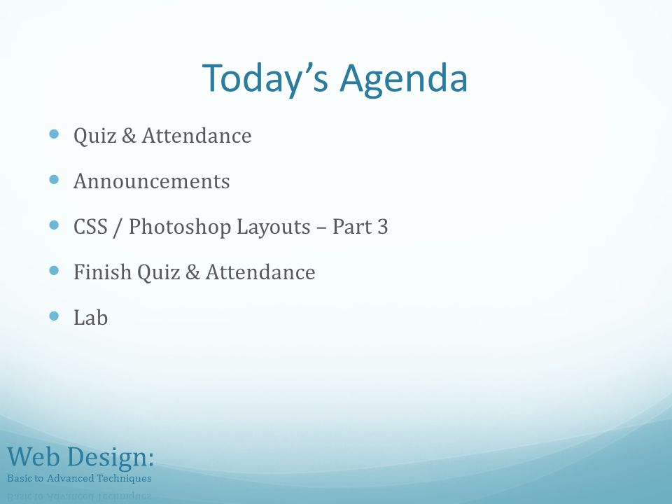 css photoshop layouts quiz 5 lecture code ppt download