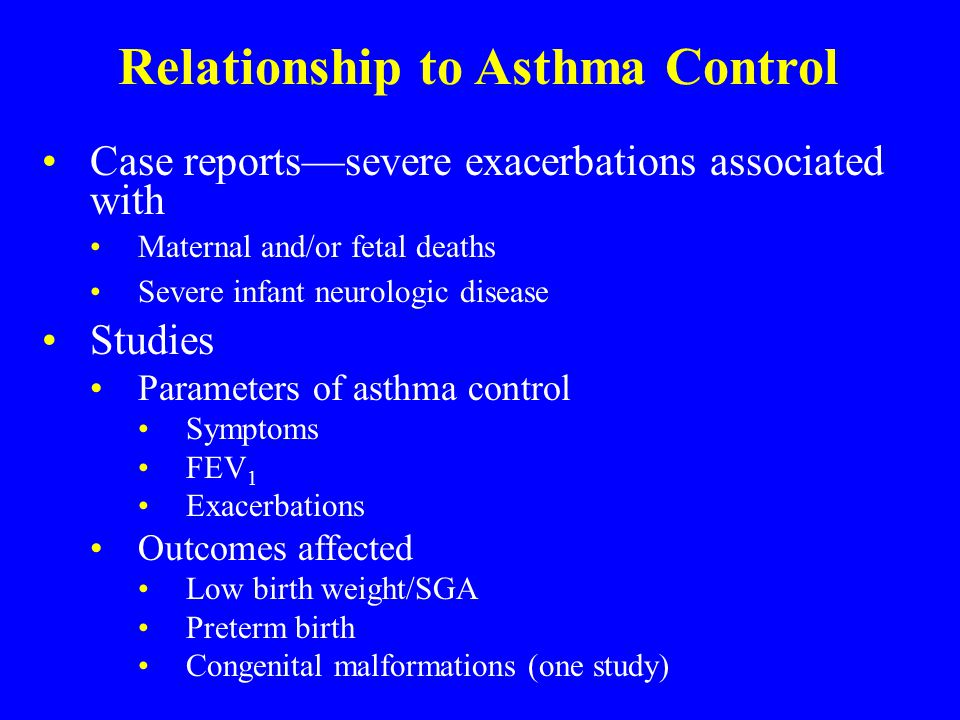 Asthma and Pregnancy Michael Schatz, MD, MS Chief