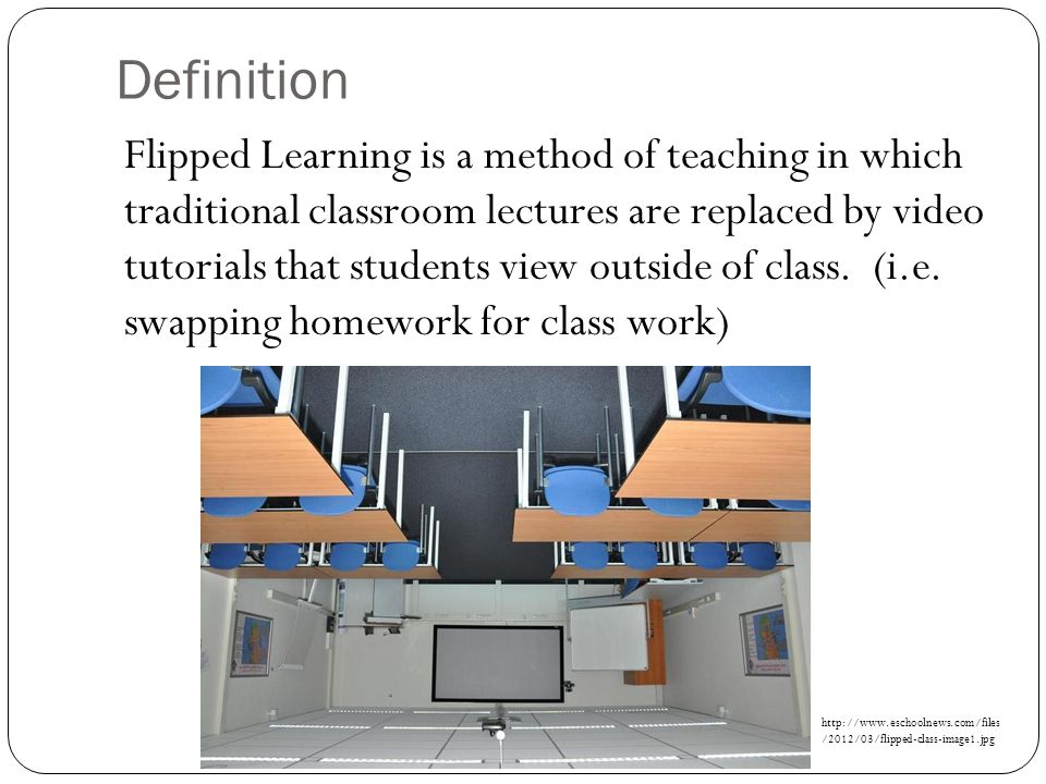 traditional classroom learning definition