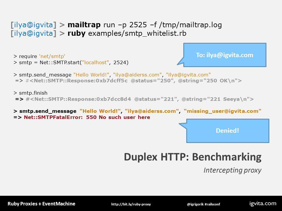 Ruby Proxies + #railsconfhttp://bit ly/ruby-proxy Ruby