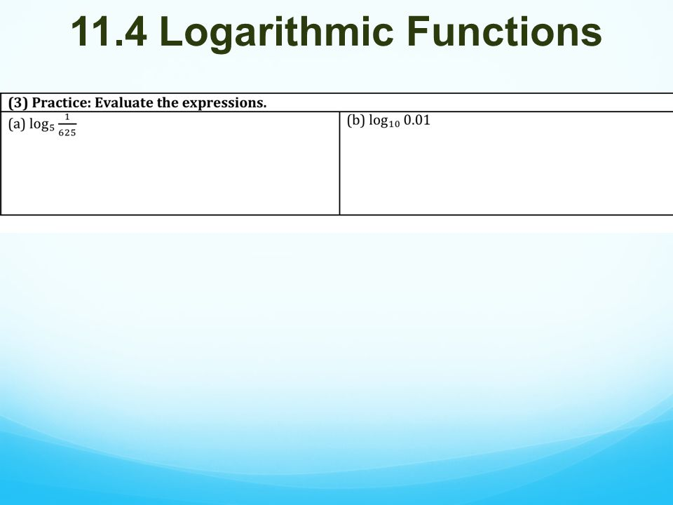 Happy Tuesday Do The Following Take Out Hw3 Hw 4 P 722 1. 15 114 Logarithmic Functions. Worksheet. 11 4 Practice Worksheet Logarithmic Functions At Clickcart.co