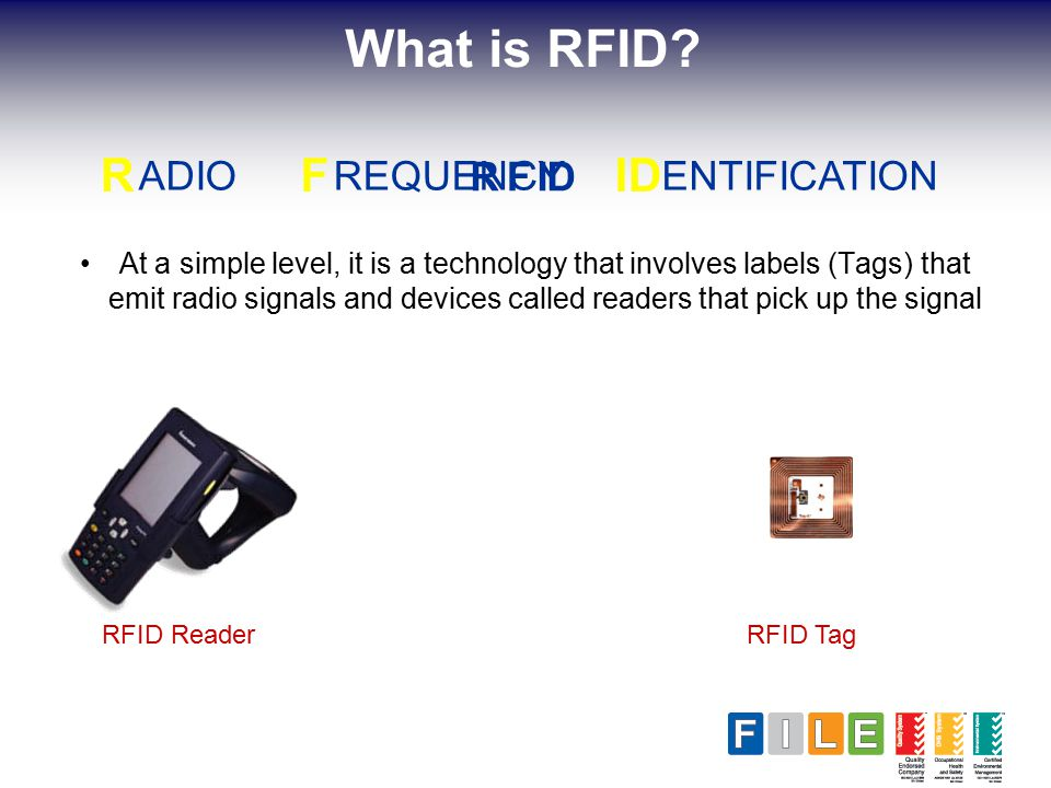 Agenda About FILE Pty Limited  What is RFID? RFID in Records