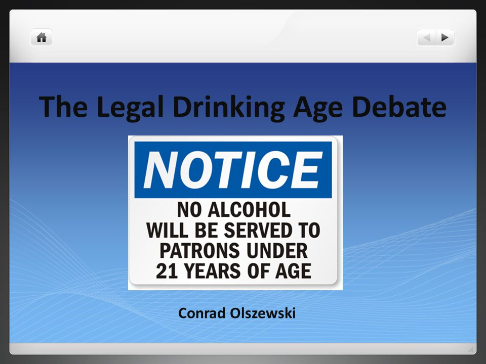 The Age Olszewski Drinking Ppt - Debate Legal Download Conrad