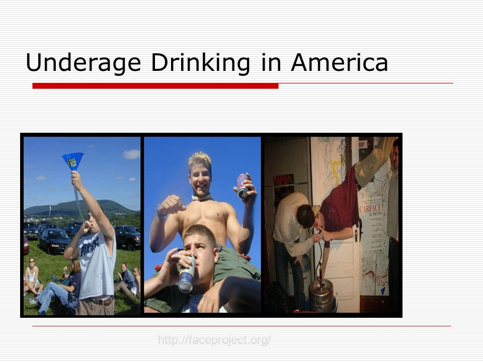 Underage Drinking in America