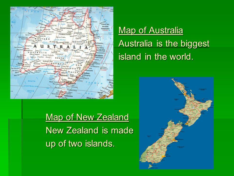 Australia and new zealand kateina fabkov 9a map of australia 2 map gumiabroncs Image collections