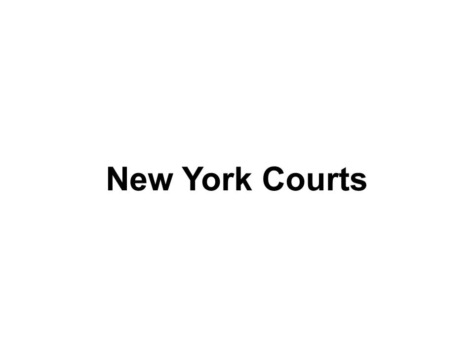 New York Courts