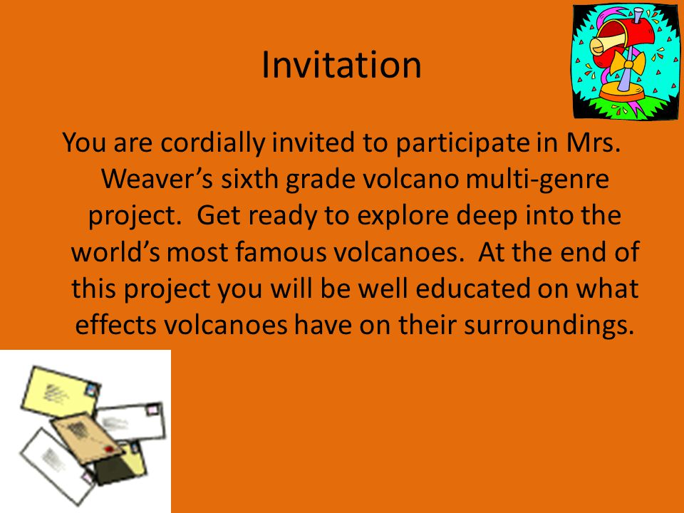 Mrs Weaver Sixth Grade Science March Invitation You Are Cordially