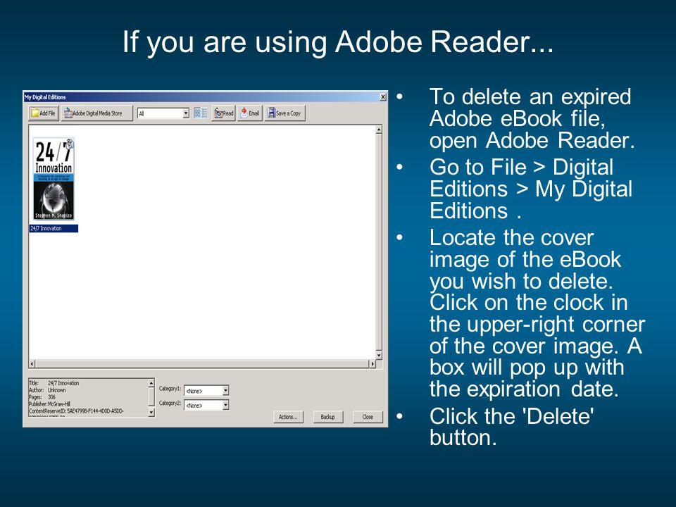 adobe reader ebook