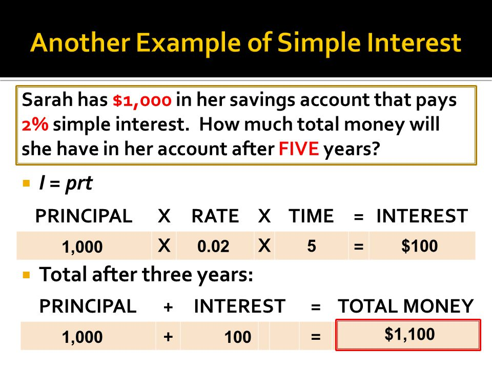 Mark has $500 in his savings account that pays 4% simple interest.