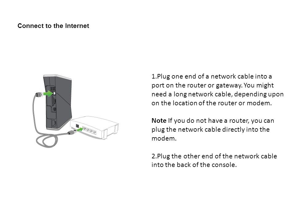 By Photo Congress || How To Connect Xbox 360 To Internet