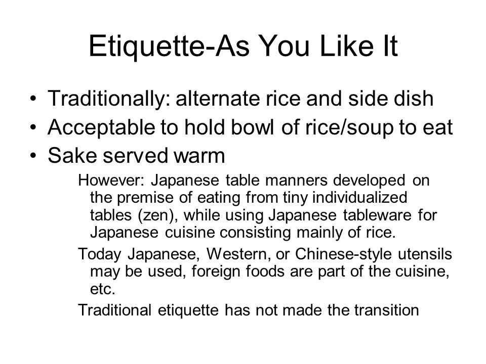 japanese table etiquette