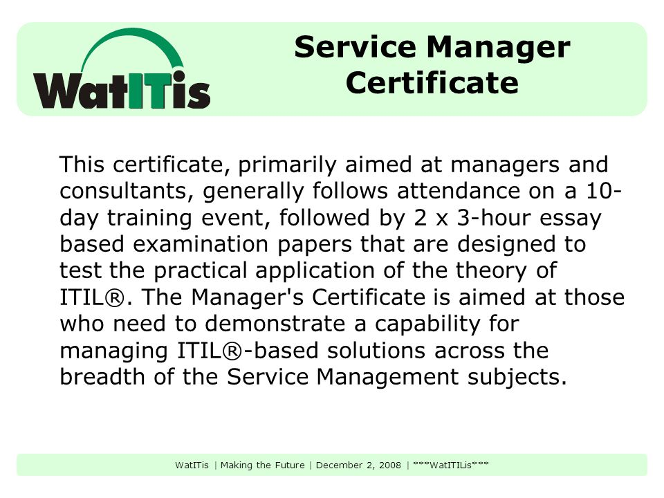 Watitilis What Do You Need To Know About Information Technology