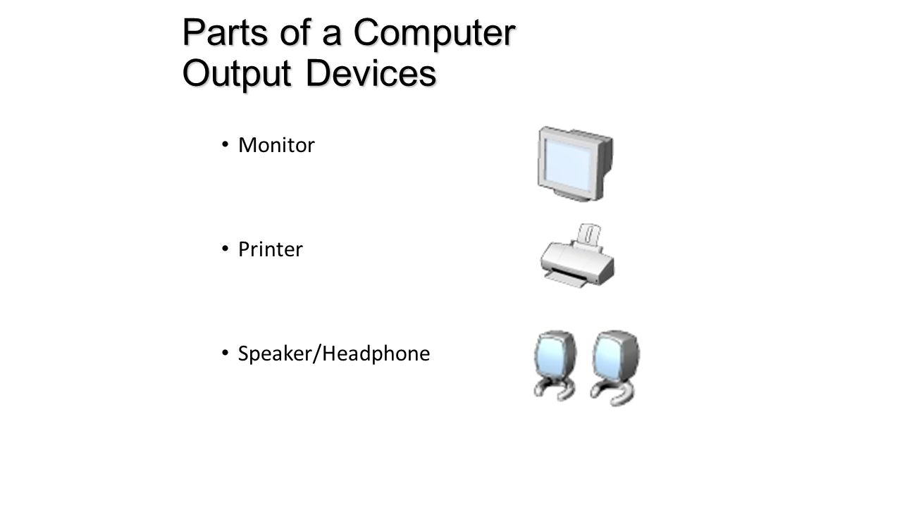 Parts Of Computer Parts Of A Computer Input Devices Mouse Mouse Keyboard Keyboard Microphone Microphone Scanner Scanner Webcam Webcam Ppt Download