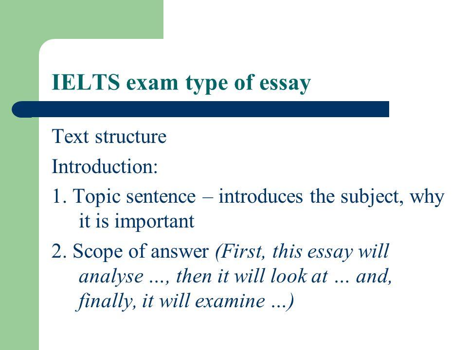 scope of english language essay