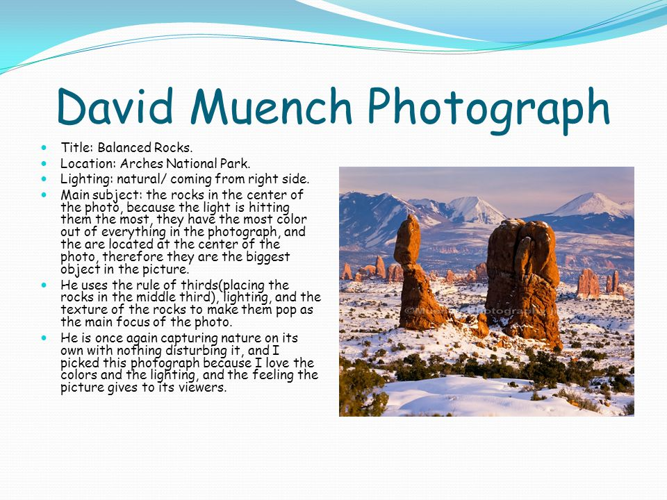 David Muench Photograph Title: Balanced Rocks. Location: Arches National Park.