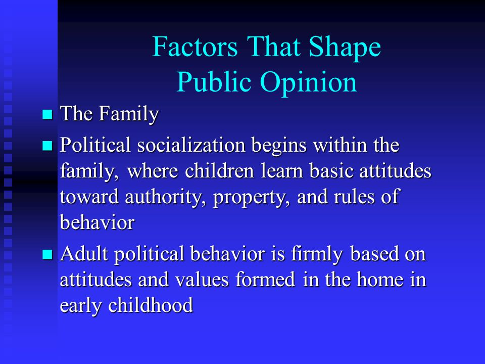 types of public opinion
