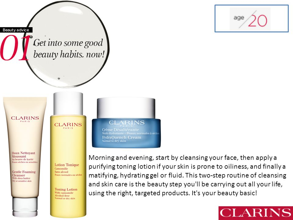 CLARINS Beauty Advice - ppt download