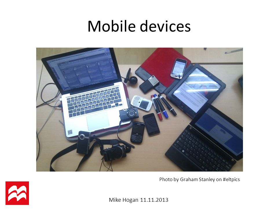 Mike Hogan Mobile devices Photo by Graham Stanley on #eltpics