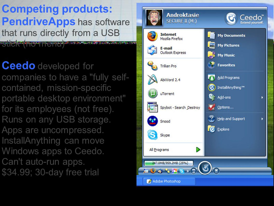 Portable Apps vs  U3 Apps on a stick - what's best  - ppt download