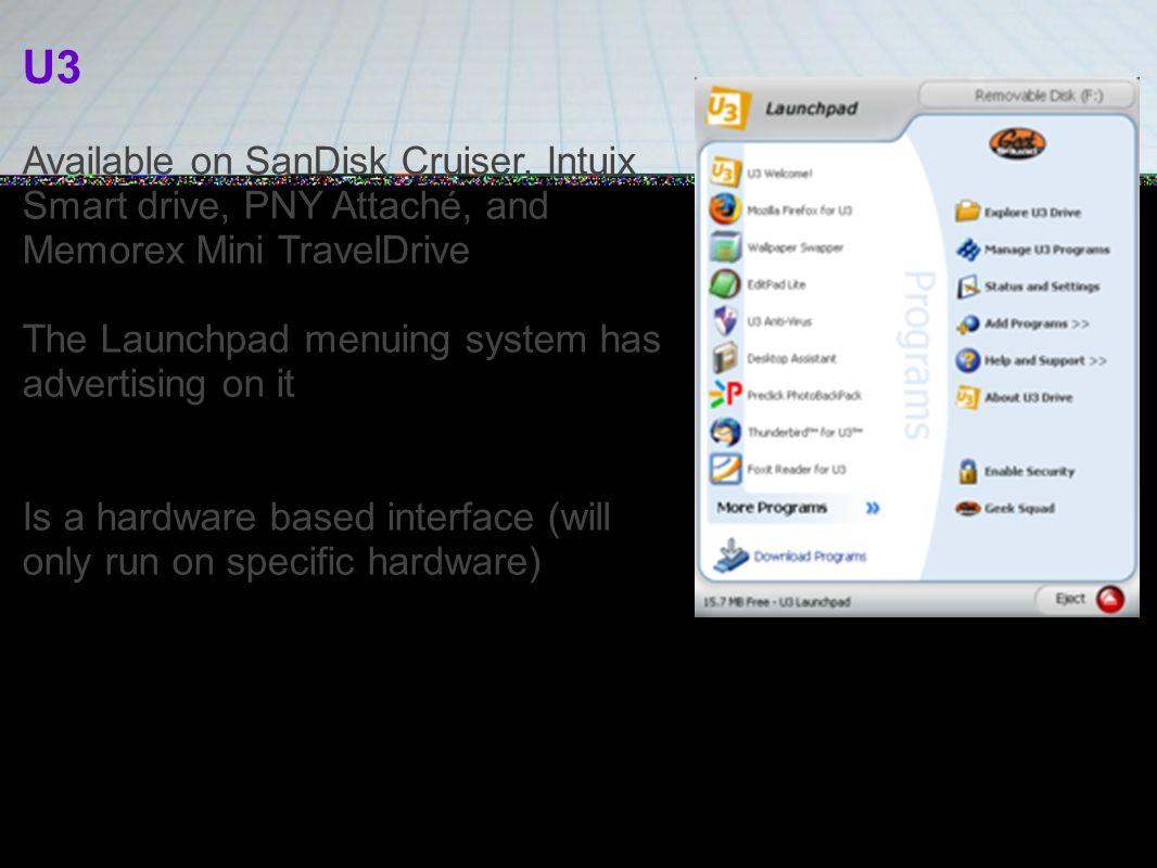 Install u3 on a sandisk cruzer micro: 6 steps.