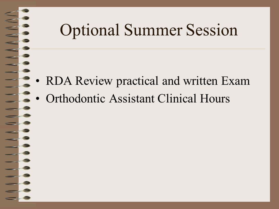 Dental Assisting Lori Gagliardi Program Director RDA CDA
