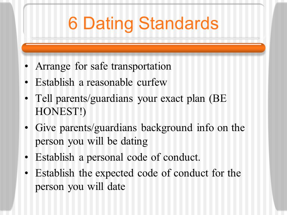 dating conducte