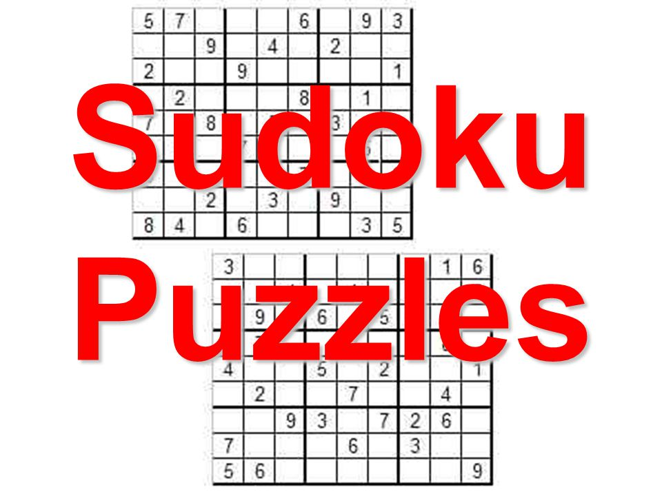 Sudoku Puzzles. How to do a 4x4 Sudoku Grid (easiest) Every column ...
