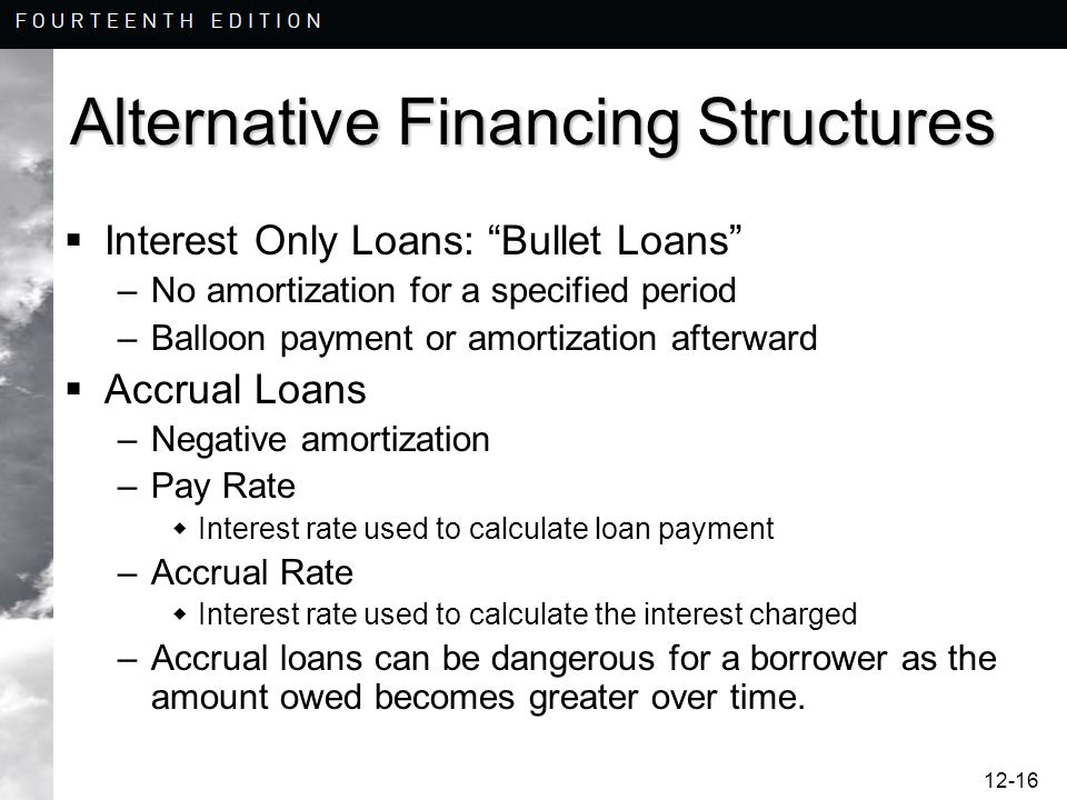 chapter 12 financial leverage and financing alternatives mcgraw